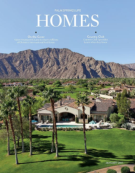 Palm Springs Life HOMES January 2017