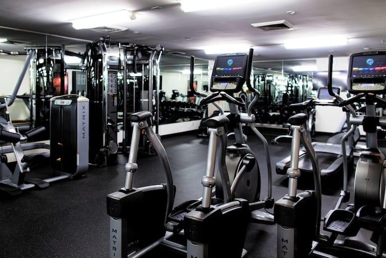 hard rock hotel palm springs gym