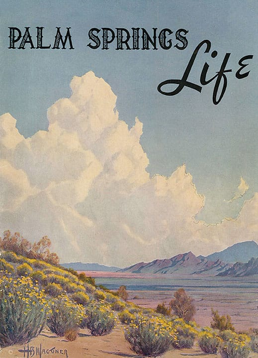 Palm Springs Life 1941 Vintage Cover Art