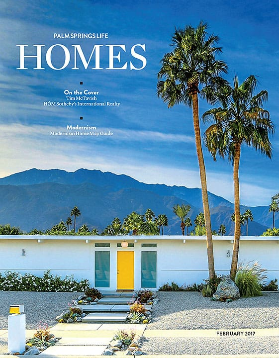 Palm Springs Life HOMES February 2017