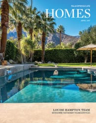Palm Springs Life Homes April 2017