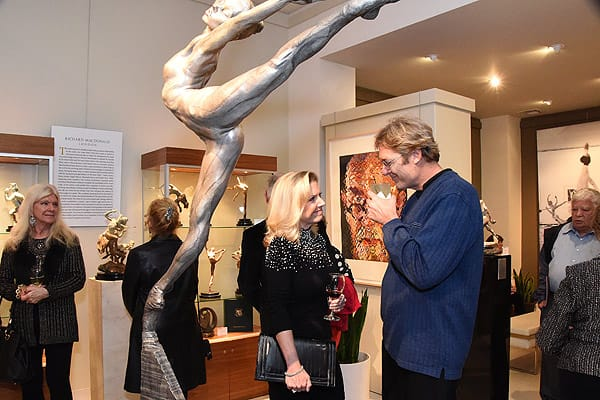 """""""Duality"""" by Richard MacDonald at the Dawson Cole Fine Art Gallery"""