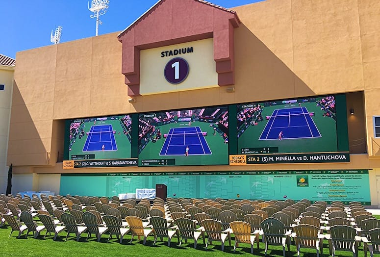 Stadium One Plaza at the BNP Paribas Open