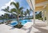 Coral Stone patio and pool