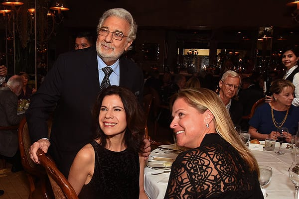 Bravos for Placido Domingo's Show and VIP Dinner