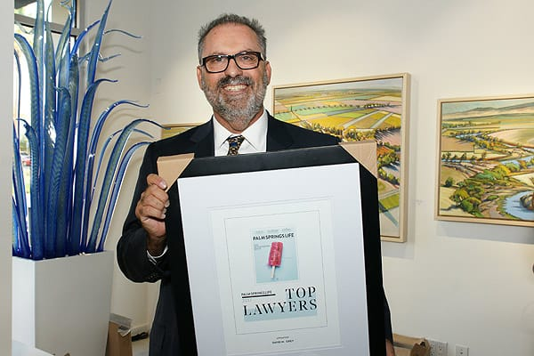 Valley's Top Lawyers Honored at Coda Gallery Palm Desert