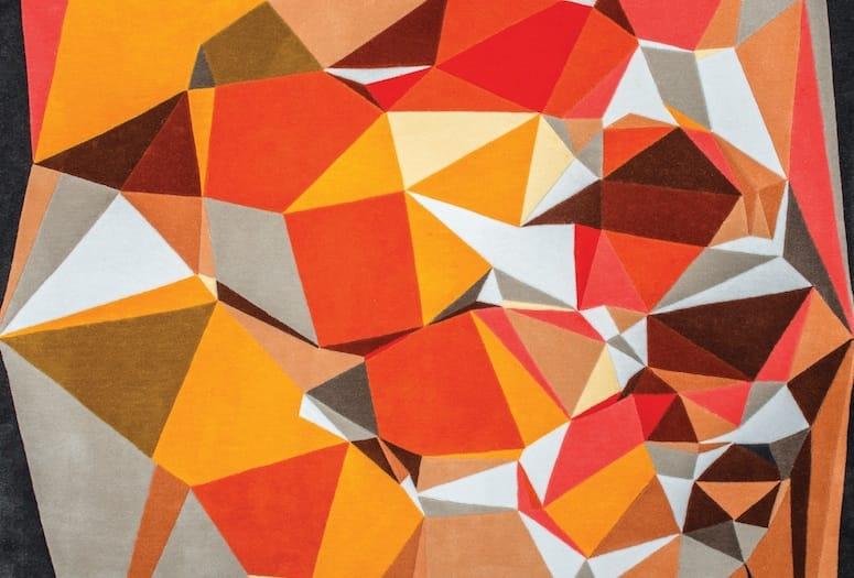 lindstrom rug pattern detail