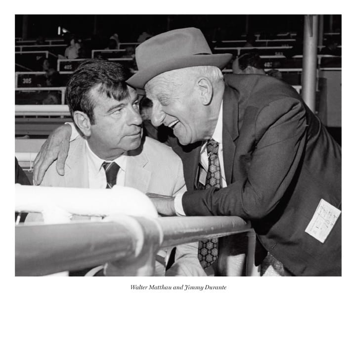 Walter Matthau and Jimmy Durante
