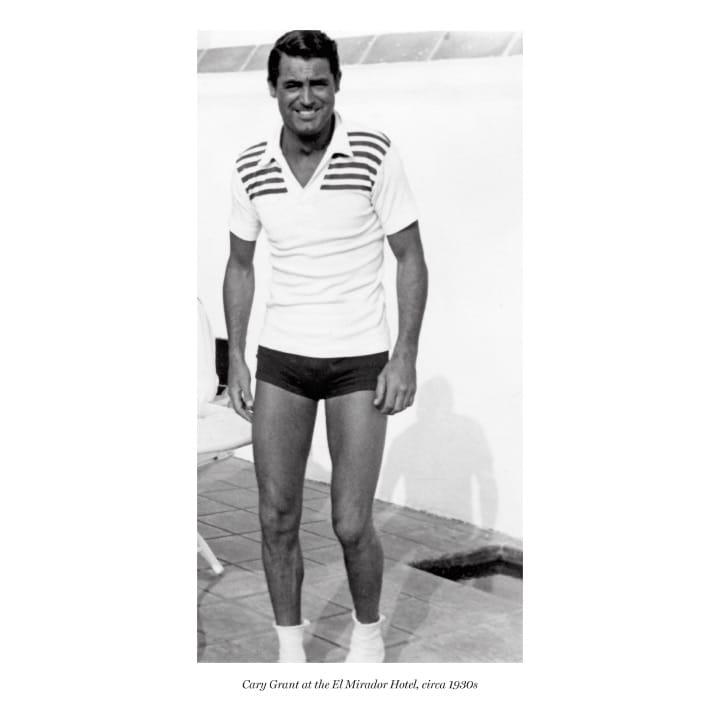 Cary Grant at the El Mirador Hotel, circa 1930s