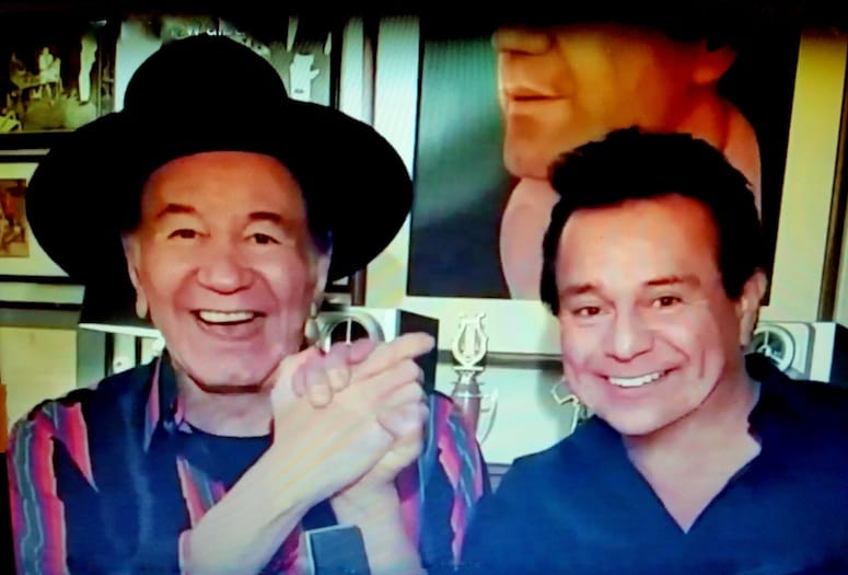 Trini Lopez and Joe Chavira