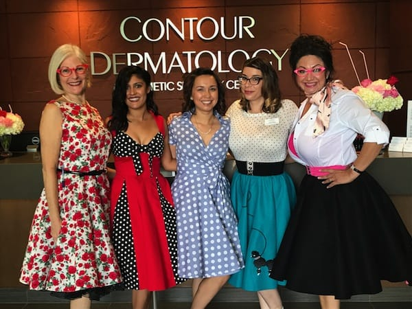 """Contour Dermatology's """"Grease Themed"""" Day of Beauty"""