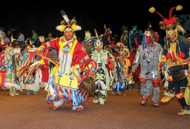 winter gathering powwow