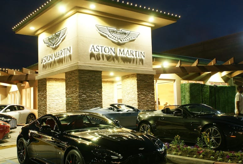 aston martin rancho mirage