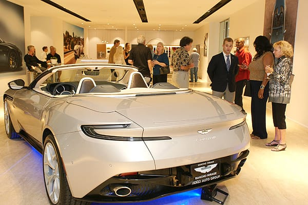 Aston Martin Rancho Mirage Introduces Its New Showroom