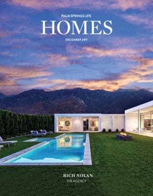 Palm Springs Life HOMES December 2017