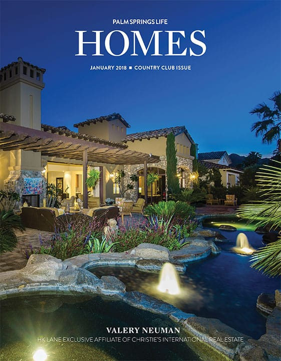Palm Springs Life HOMES January 2018