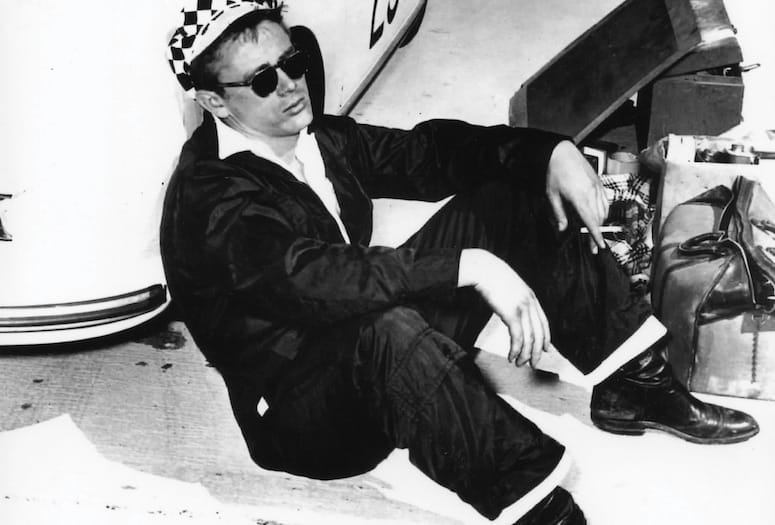 James Dean Marks His Racing Start in Palm Springs WIth a Win