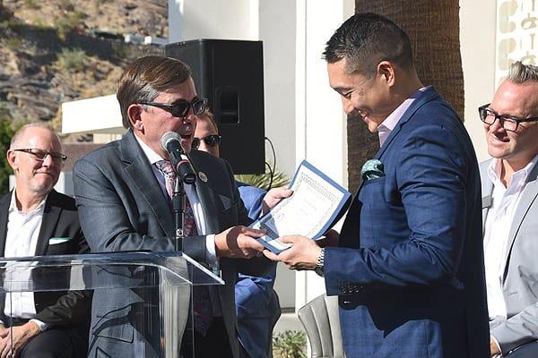 Kimpton Rowan Hotel Cuts the Opening Ribbon