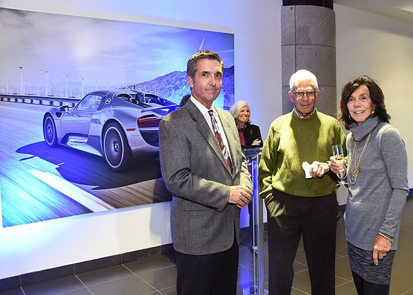 Porsche of Rancho Mirage Celebrates the Porsche Panamera 4 Sport Turismo