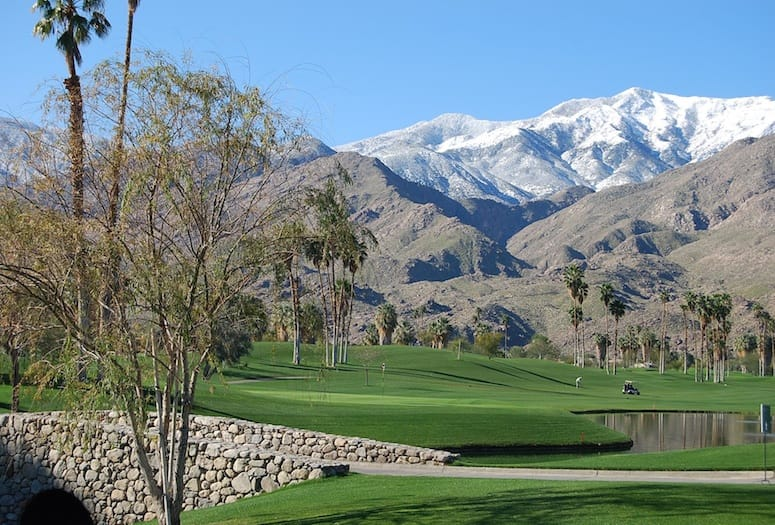 Indian Canyons Golf Course Palm Springs CA