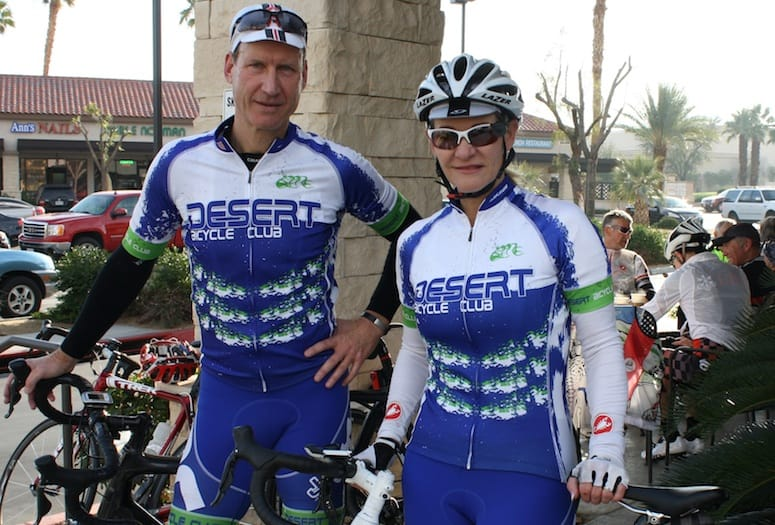 Riders from Desert Bicycle Club