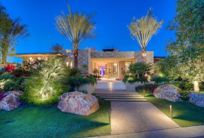 The Madison Club >> The Madison Club Desert Contemporary Estate In La Quinta