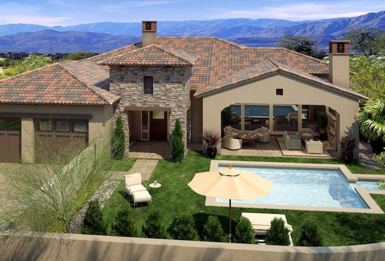 Monterra New Tuscan And Spanish Colonial Style Homes Coming To Pga West