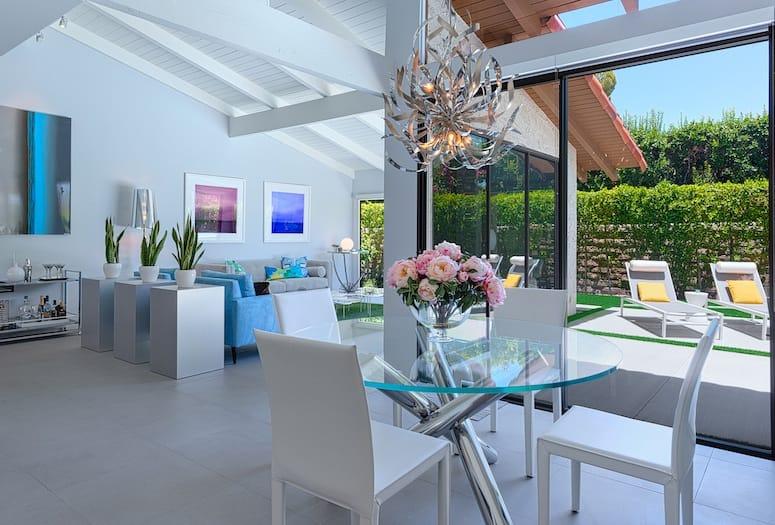 H3k Design Creates Indoor Outdoor Living Efficiency In Palm Springs