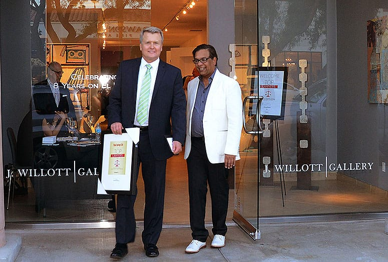 Top Lawyers Reception at J. Willott Gallery – June 3, 2015