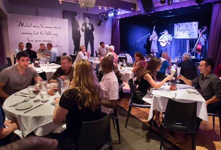Purple Room Restaurant And Stage Brings Top Entertainment