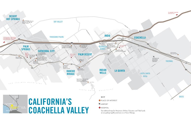 Coachella Valley Maps Vision 2014 15 Coachella Valley Vision