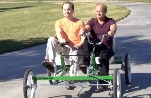 Pedal Pushers: Palm Springs Partners Market Four-Wheel Bicycle