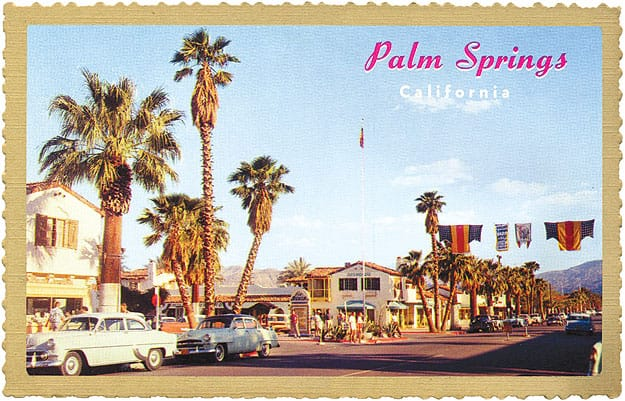 Palm Springs Motors >> Palm Springs Landmarks History La Plaza Shopping Area