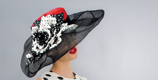 4a5d8f600 Louise Green has crowned celebrities from Barbra Streisand to Shaquille  O'Neal. Wearing an exquisitely trimmed hat of her own creation, the milliner  ...