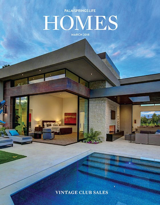 Palm Springs Life HOMES March 2018