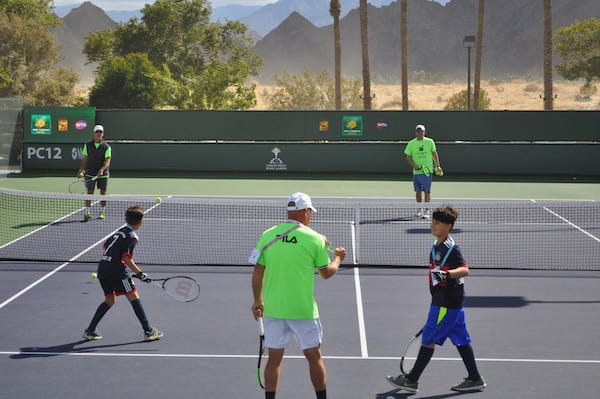 Kids Take Center Court at BNP Paribas Open