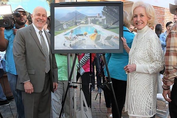 Palm Springs Walk Of Stars Honors Nelda Linsk