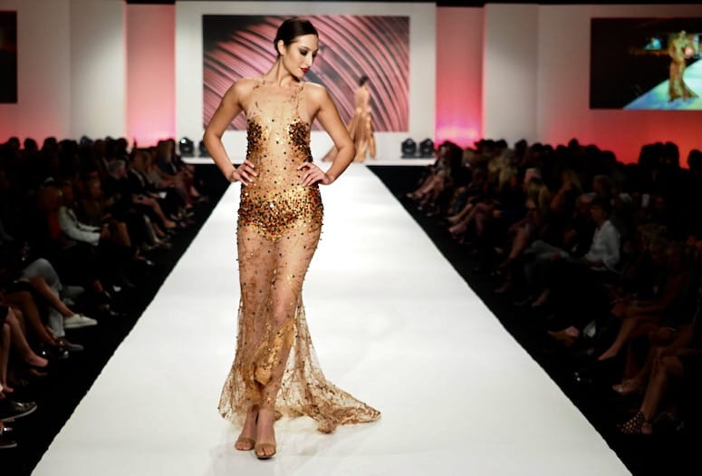 Fidm Students Bring Their Debut Collections To Fashion Week El Paseo
