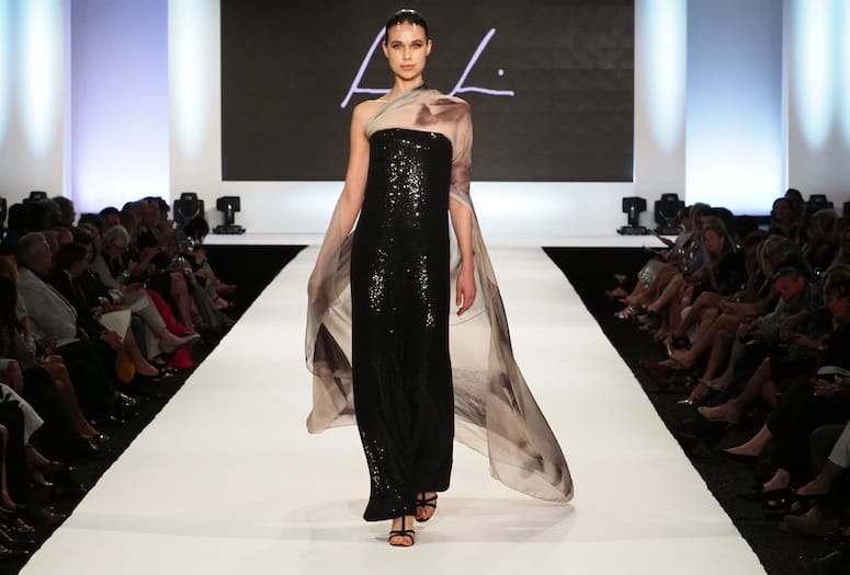 Fashion Week El Paseo Closing Night:  Ralph Rucci