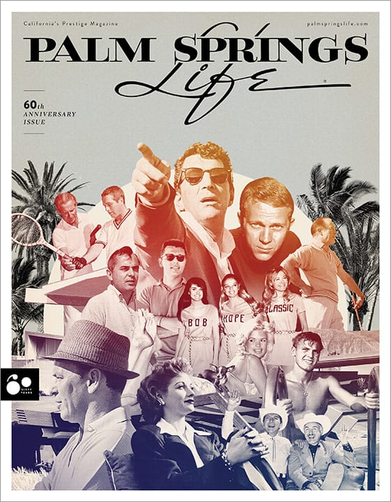 April 2018 Palm Springs Life 60th Anniversary Commemorative Poster