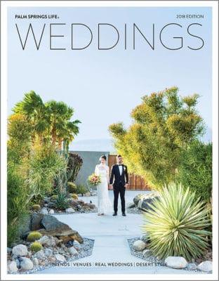 2018 Palm Springs Life Weddings
