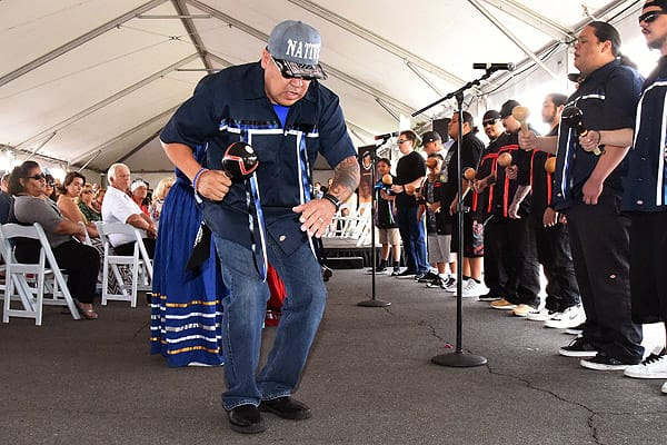 Agua Caliente New Cultural Center Groundbreaking