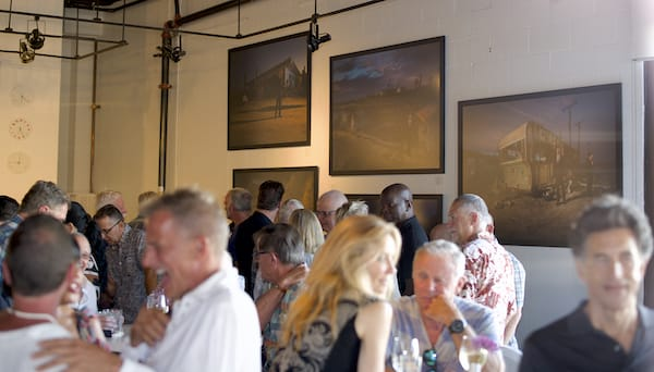 Photos at Eight4Nine Restaurant Raise Awareness of Salton Sea Crisis
