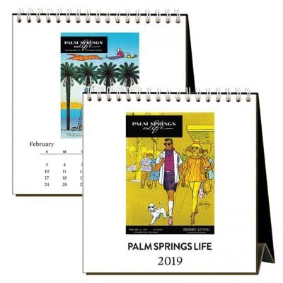 Palm Springs Life Vintage Covers Calendar