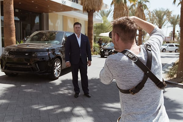 Behind the 40 Under Forty 2018 Shoot - Photograph by Colby Tarsitano