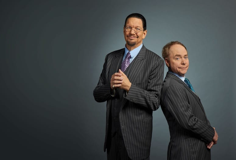 Penn & Teller Bring Legendary Magic Act to The Show