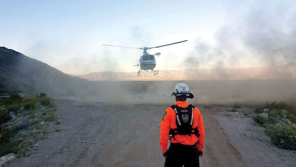 Palm Springs Mounted Police Search and Rescue Saves the Day