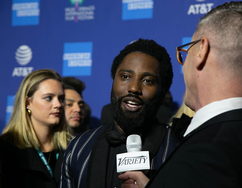 "John David Washington, Actor, ""BlacKkKlansman"". PSIFF 2019 Award Gala"