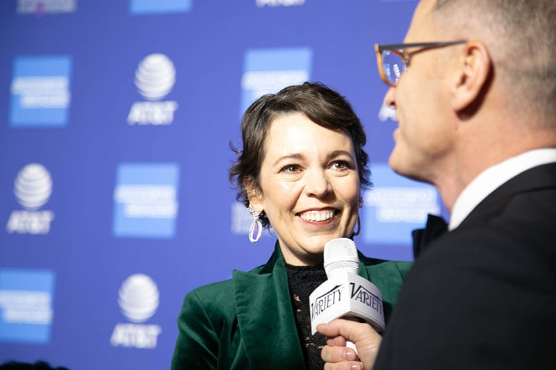 "Olivia Colman, Actor, ""The Favourite"". PSIFF 2019 Award Gala"
