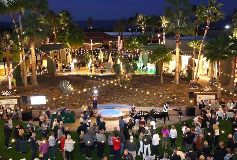BNP Paribas Open Garden Party Opens Tennis Season in the Desert